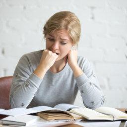 Hacer exámenes - Ansiedad
