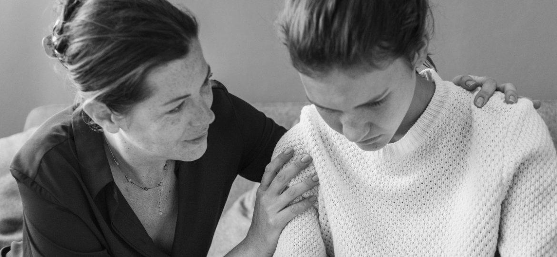 Soporte emocional - Madre e hija